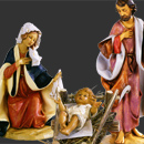 Nativity set 31-52 cm 52